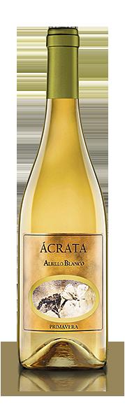 Botella Vino Ácrata Albillo Blanco