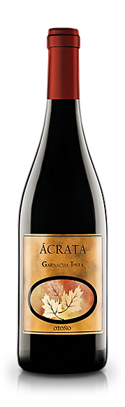 Botella Vino Ácrata Garnacha Tinta