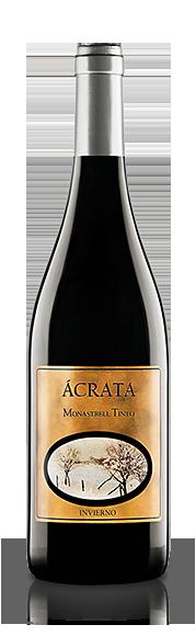 Botella Vino Ácrata Monastrell Tinto