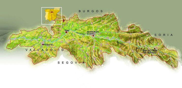 Municipios Ribera del Duero