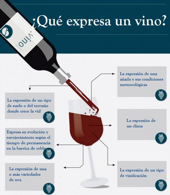 ¿Qué expresa un vino?