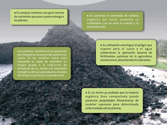 Beneficios del compost