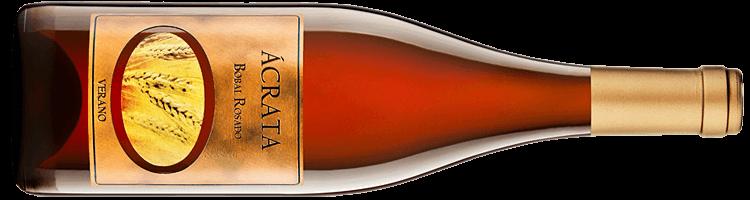 Botella de vino Ácrata Bobal Rosado