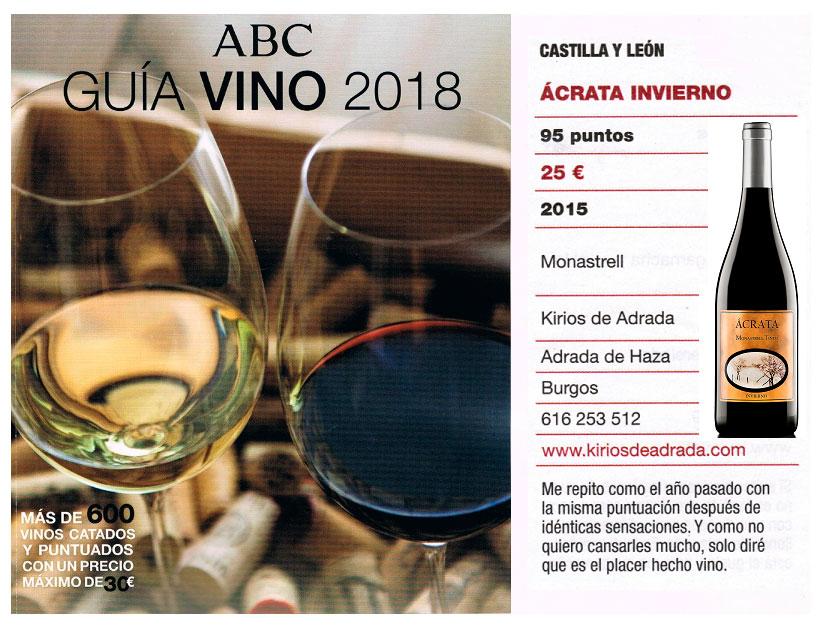 Salón del vino de ABC Ácrata Monastrell