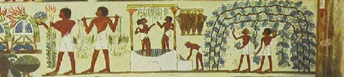 Pintura en Tumba de Najt