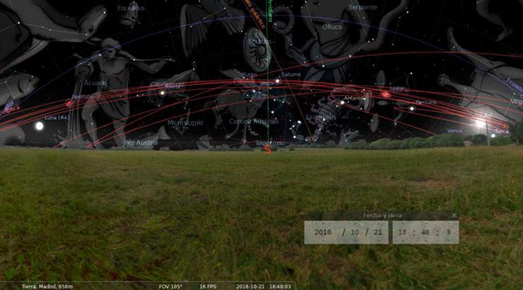 Almanaque estelar octubre 3